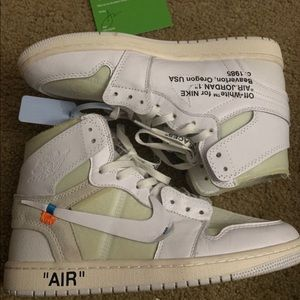 Off white Jordan 1